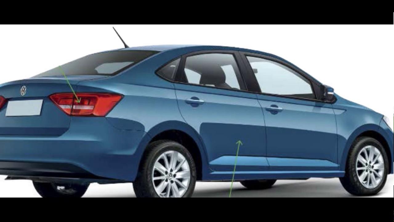 In The 2019 Volkswagen New Polo Concept Sedan - YouTube