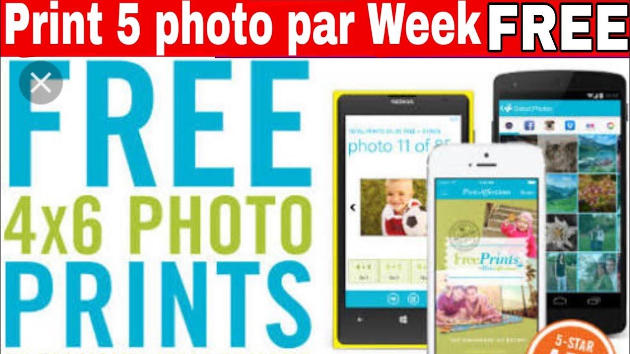 Get Free Photo Prints 5 Photos Free Home Delivery Freeprints App
