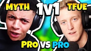 MYTH 1V1 TFUE (FULL FIGHT & BOTH POV) | Fortnite Battle Royale (TSM vs FaZe)