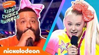 Can JoJo Siwa Outdance DJ Khaled In A Celebrity Dance Challenge?   2019 Kids' Choice Awards