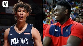 Jaxson Hayes with the GREATEST DUNK in NBA Summer League HISTORY! Zion Approves | July 8, 2019 Video