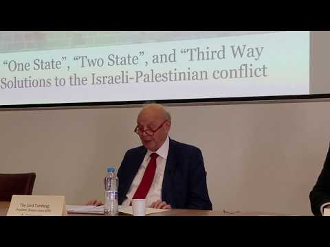 CSIPS Keynote Speech: The Lord Turnberg, 12th May 2017 (CSIPS Middle East Peace Conference 2017)