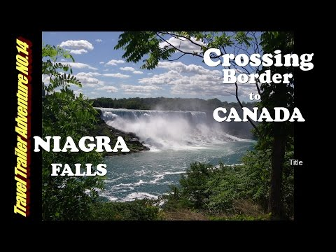 Traveling to Canada in an RV