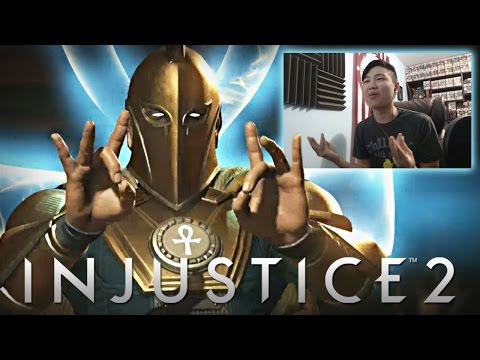 Injustice 2 - Dr. Fate Reveal Trailer! [REACTION]