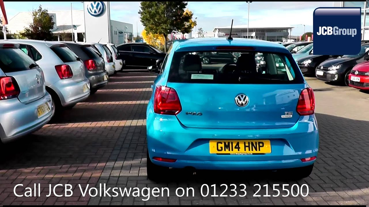 2014 Volkswagen Polo Hatch Sel 1 2l Mayan Blue Gm14hnp For