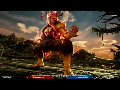 CEO 2016: Tekken 7 FR: Auction Tournament: Circa Anakin vs TS Poongko