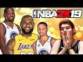 GANARÉ A WARRIORS CON LAKERS DE LEBRON? NBA 2K19
