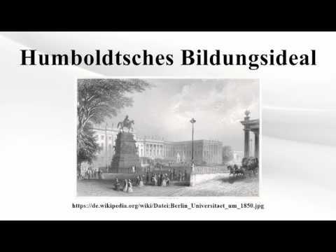 Humboldtsches Bildungsideal