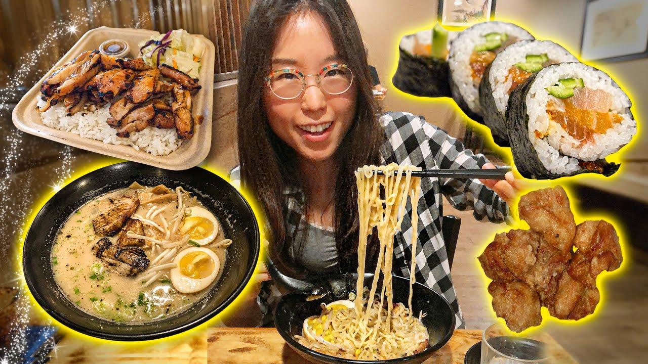 JAPANESE FOOD TOUR 🍜 ft Ramen & Cutlet Sandwich in Greater Seattle