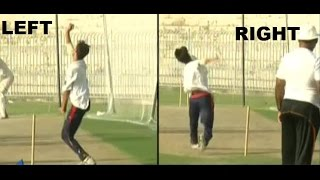 Yasir Jaan 90 miles speedy Fast Bowler Bowls With Both Hands Amazing Talent from Pakistan