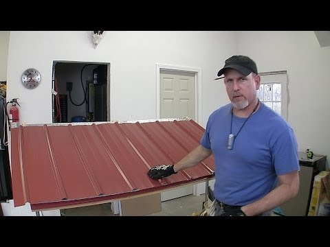 How to Build a Pole Barn Pt 7 - Metal Roofing