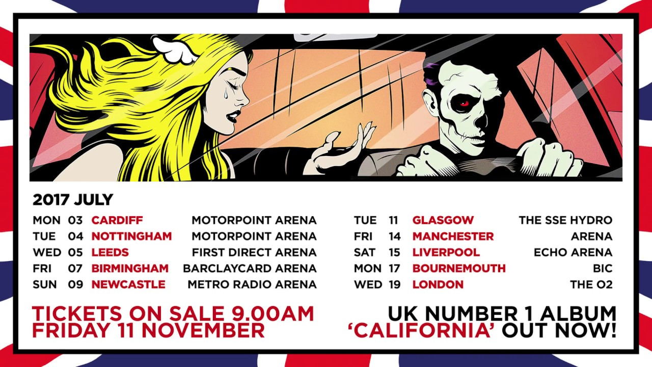 Blink  Tour Dates  Uk