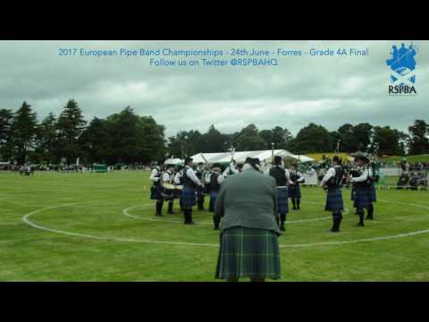 04 Kinross and District   2017 Grade 4A European Pipe Band Championships