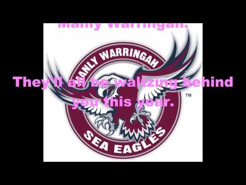 Manly-Warringah Sea Eagles theme song (Lyrics) NRL Sing-A-Long