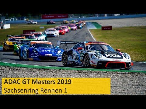 Adac Gt Masters Rennen 1 Sachsenring 2019 Re Live Deutsch