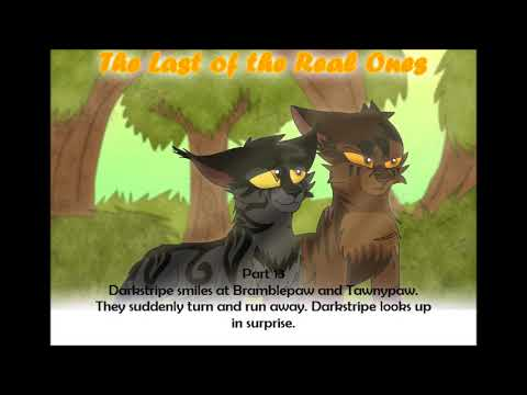 Darkstripe and Tigerstar MAP: The Last of the Real Ones BACKUPS OPEN 425 in DUE SEPTEMBER 1ST