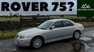 Should You Buy a ROVER 75? (Test Drive & Review 2005 1.8T Connoisseur)