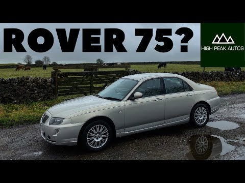 Should You Buy A ROVER 75? (Test Drive & Review 2005 1.8T Connoisseur)