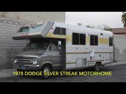 Vintage 1978 Dodge Silver Streak Motorhome RV Tour