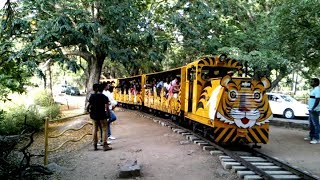 Amazing Narrow Guage Toy Train at Nehru Zoological Park,Hyderabad,India.