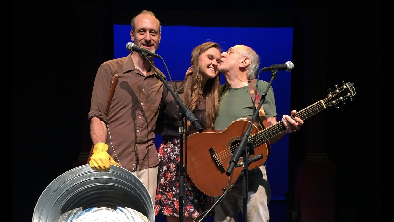 LIZZIE SIDER SINGS WITH PETER YARROW of Peter, Paul and Mary