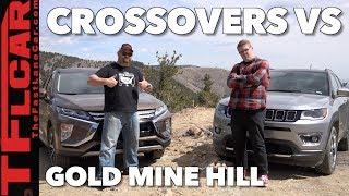 2018 Jeep Compass vs Mitsubishi Eclipse Cross vs Gold Mine Hill Off-Road Review