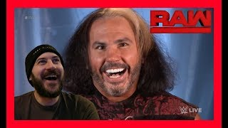 REACTION: WOKEN MATT HARDY ARRIVES TO DELETE BRAY WYATT!!!!