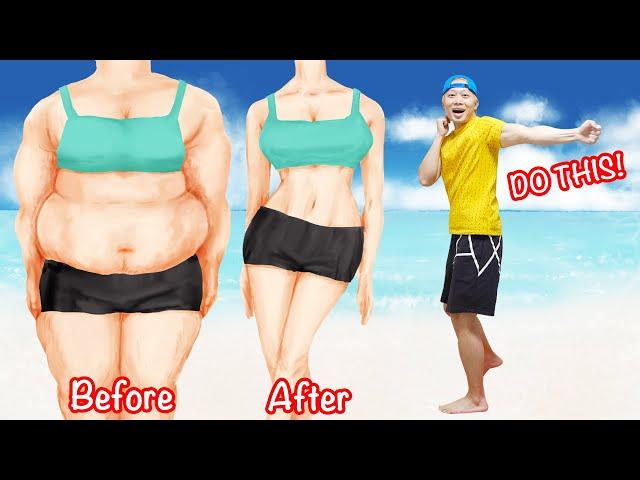 【28分】お腹のラブハンドル脂肪を完全燃焼!滝汗パンチ有酸素運動