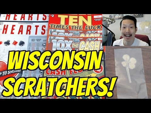 FIRST TIME PLAYING WISCONSIN LOTTERY SCRATCHERS!!!
