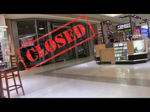 A dying mall? in Akron, Ohio  (Drone & Interior Footage)