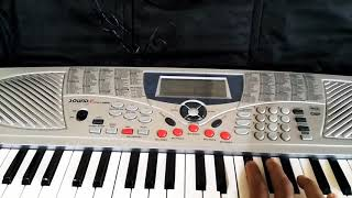 Oru adar love  Manyka malaraya poovi Piano version Priya prakash varrier keyboard 