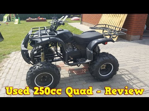 Cheap Chinese 250cc Quad ATV After 2 Years - Review + Test Run
