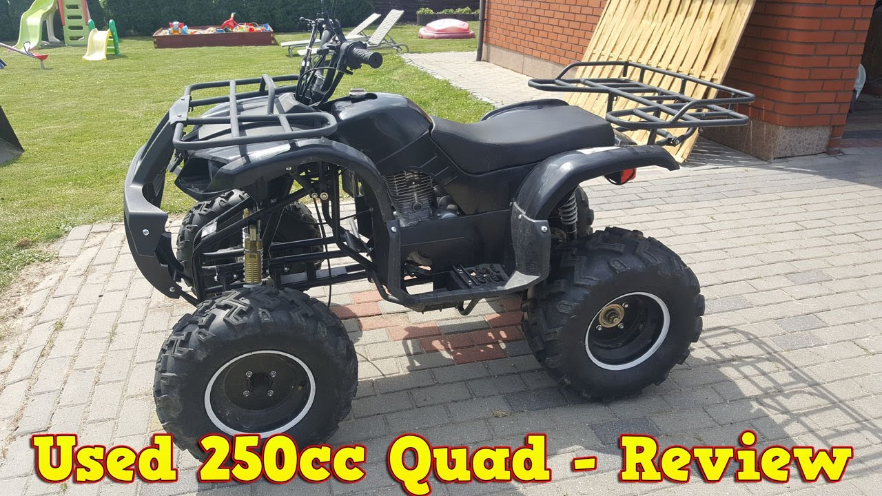 Chinese Atv Parts Of The Human Skull Diagram Cheap 250cc Quad After 2 Years Review Test Run Youtube