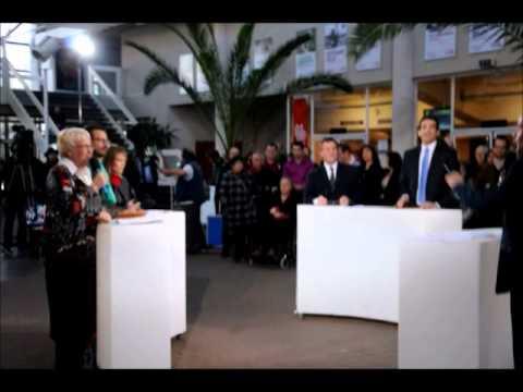 debat municipale niort France 3