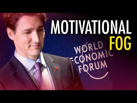 Ezra Levant: Trudeau's platitude-filled speech in Davos