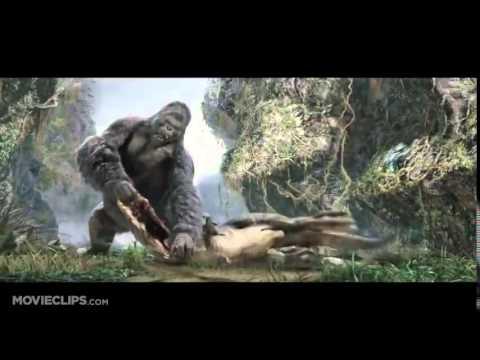 Огромная горилла против Ти-рекса - Ruslar.Biz