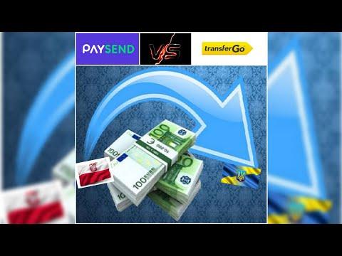 Как перевести деньги в Украину из Польши. Перевод на карту Приватбанк. PAYSEND или TransferGo.