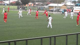 Himno de Deportes Temuco mas último gol ea Ñublense filial
