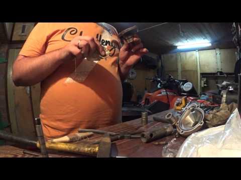 Ремонт помпы квадроцикла Artic Cat 1000 (pump  Artic Cat 1000) часть 2