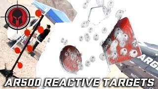the target man ar500 reactive shooting targets spartan armor systems