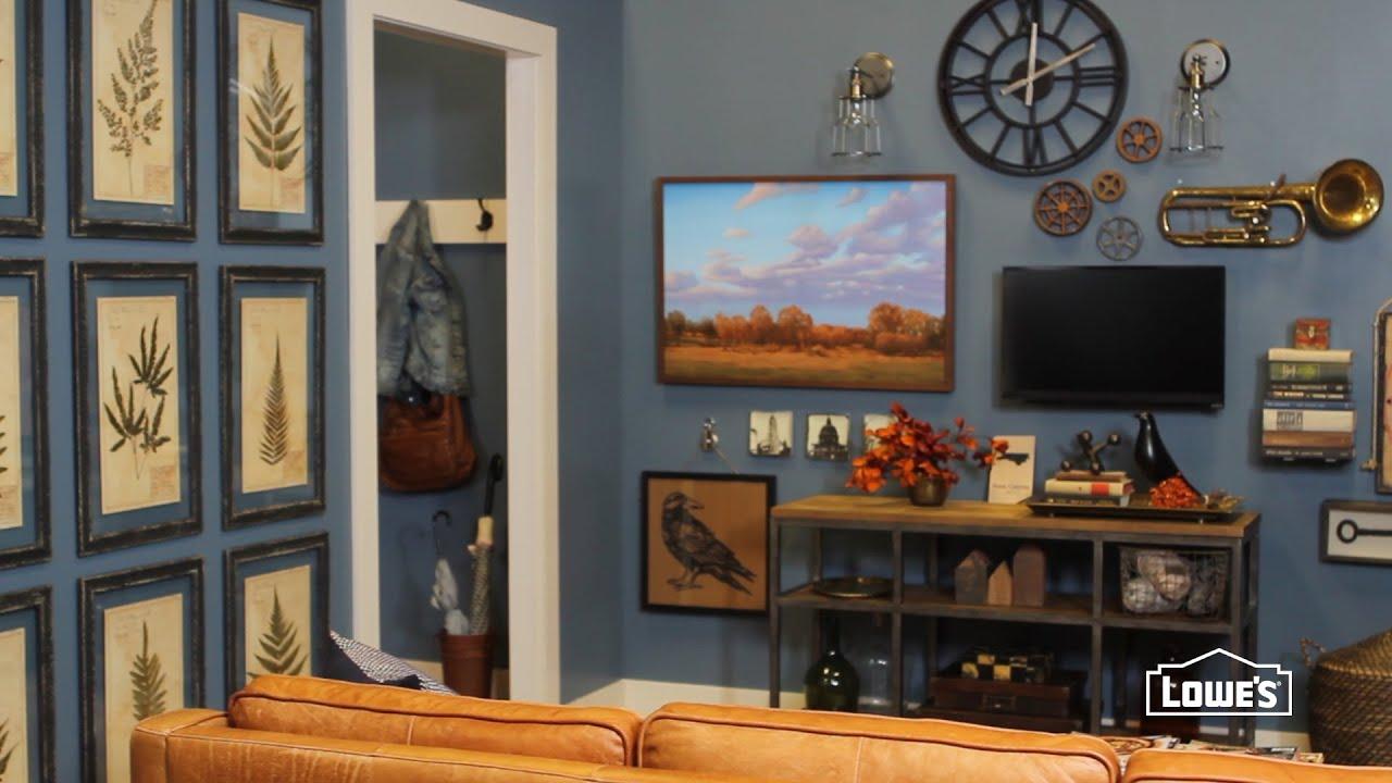Smart Gallery Wall Arrangements & Ideas - YouTube