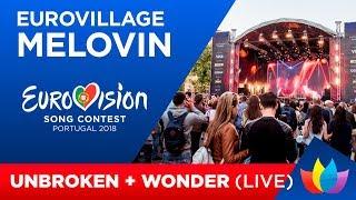 MELOVIN  - Unbroken, Wonder (Eurovision Village)