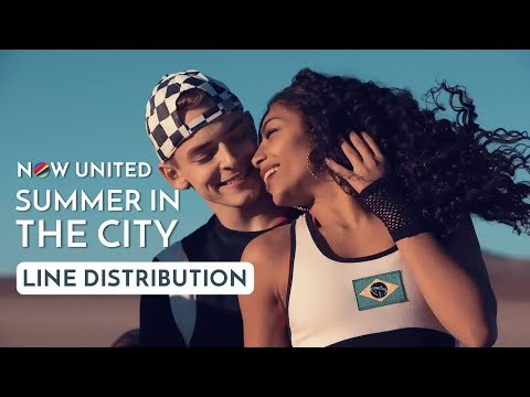 NOW UNITED - Summer in the City (Line Distribution)