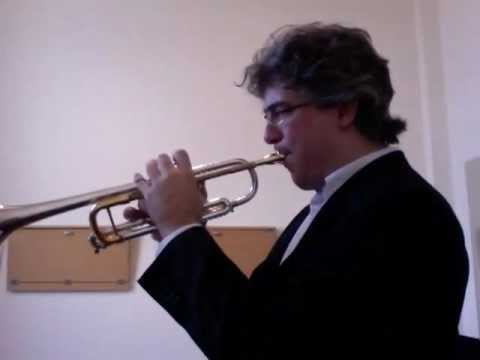Concone Lyrical Studies for trumpet - N. 2 - Andante