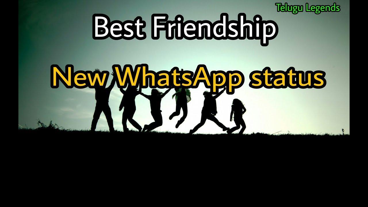 Friendship New Best Whatsapp Status Telugu Youtube