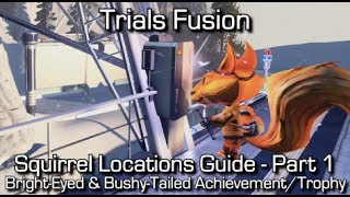 Trials Fusion - Squirrel Locations - Part 1 (1-10) - Bright-Eyed & Bushy-Tailed Achievement/Trophy