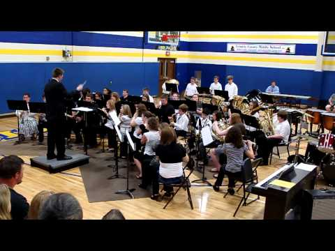 Trimble County Middle School Band Spring 2011