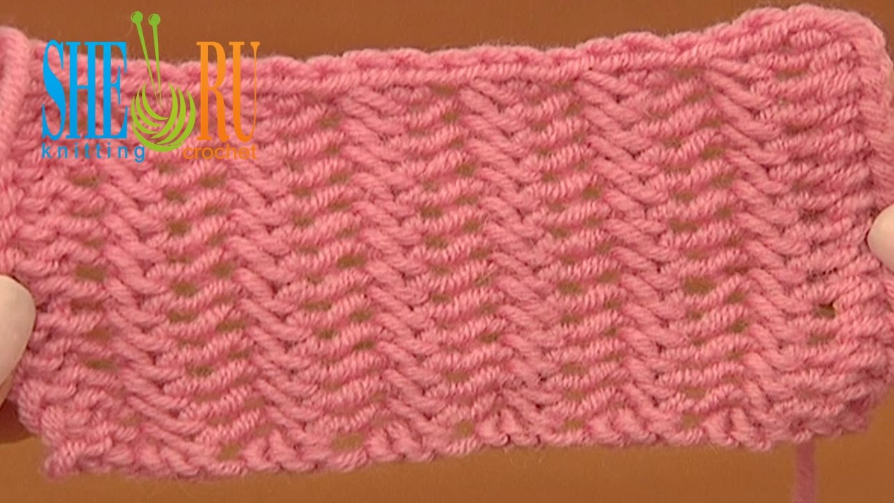 Knitting Stitches Patterns Easy : Beautiful Double Sided Knit Stitch Pattern Tutorial 20 Easy to Knit Stitches ...