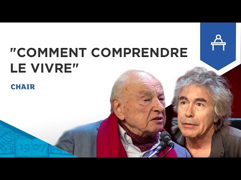 "Edgar Morin et François Jullien ""Asie et Occident,  comment comprendre le vivre ?"""