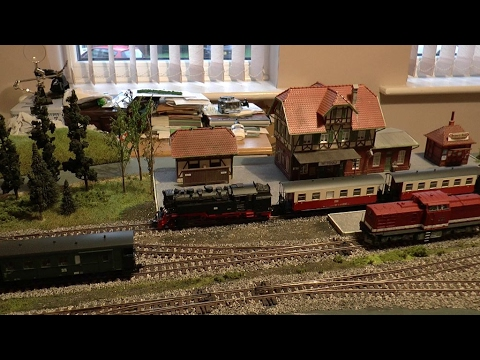 Wilkommen In Wittenau - A Harz Themed Model Railway